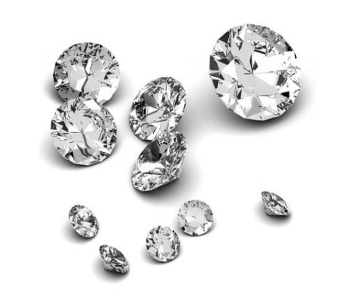 Diamonds Big Small