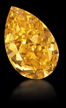 Vivid Orange Diamond
